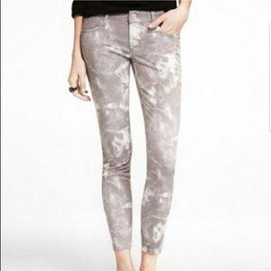 EXPRESS Jeans Tie dye